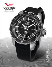 Vostok Europe NH35A/2255146 S N-1 ROCKET automatic