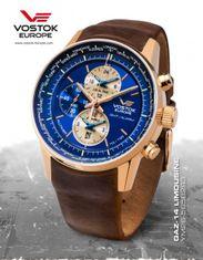 Vostok Europe YM26/565B2931 GAZ-14 world timer/alarm