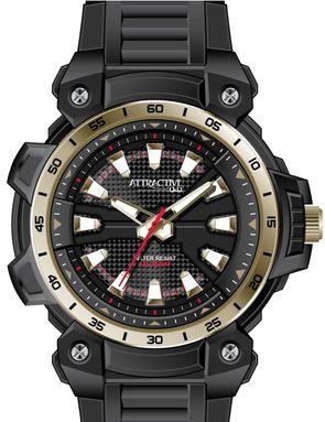 c56c58dea1e Q Q DG18J004Y ATTRACTIVE pánske hodinky 10ATM