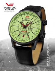 Vostok Europe 2426/5604240 GAZ-14 Limouzine World timer