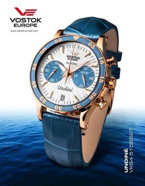 Vostok Europe VK64/515B527 UNDINE dámske hodinky