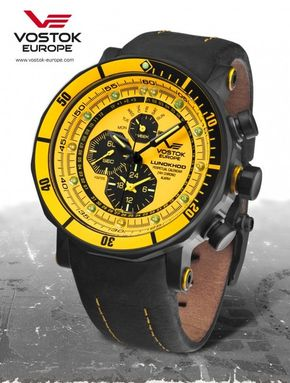 Vostok Europe YM86-620C504 LUNOCHOD-2 multifunctional