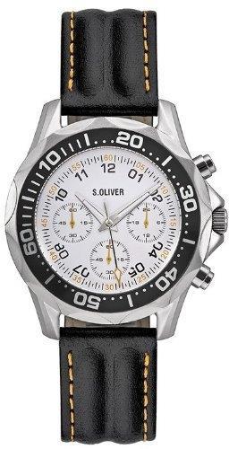 s.Oliver SO-1757-LC pánske hodinky Chronograf