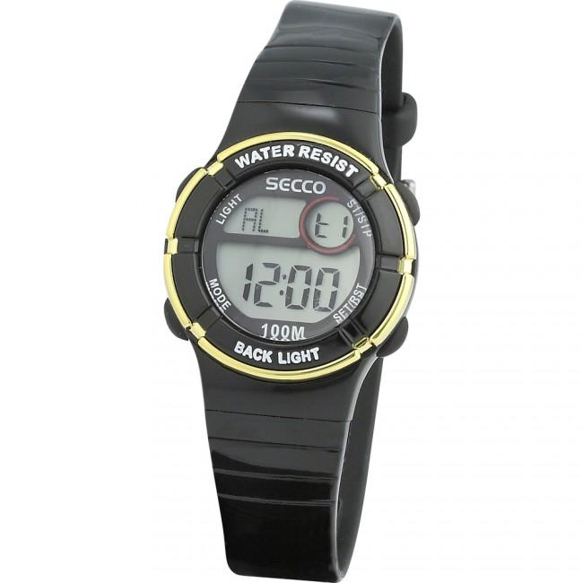 8cddca8d991 SECCO S DKE-009 digitálne hodinky 10 ATM