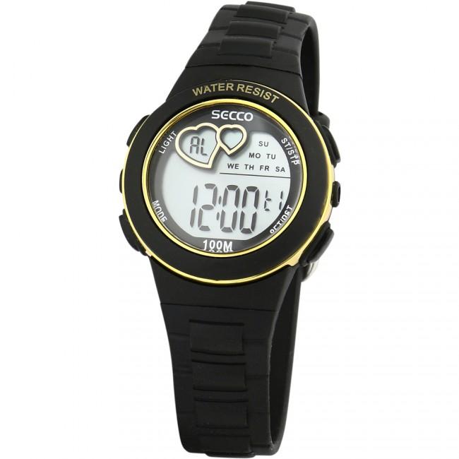 SECCO S DKM-008 digitálne hodinky 10 ATM  0916d94ea78