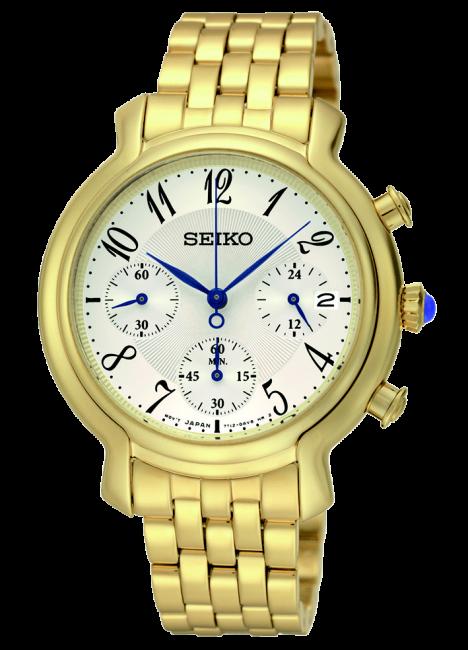 SEIKO SRW874P1 QUARTZ CHRONO dámske hodinky