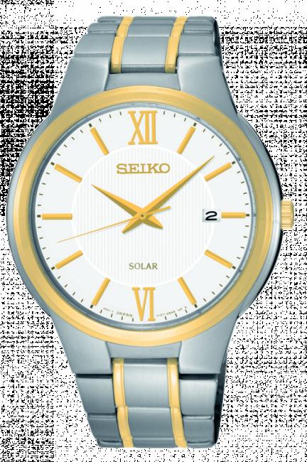 SEIKO SNE388P1 SOLAR pánske hodinky