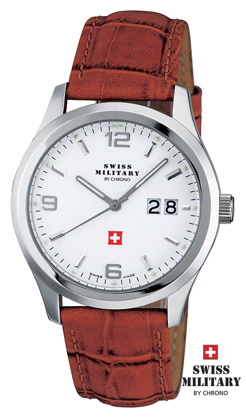 SWISS MILITARY 20009ST-2L SM34004.06 BIG DATE