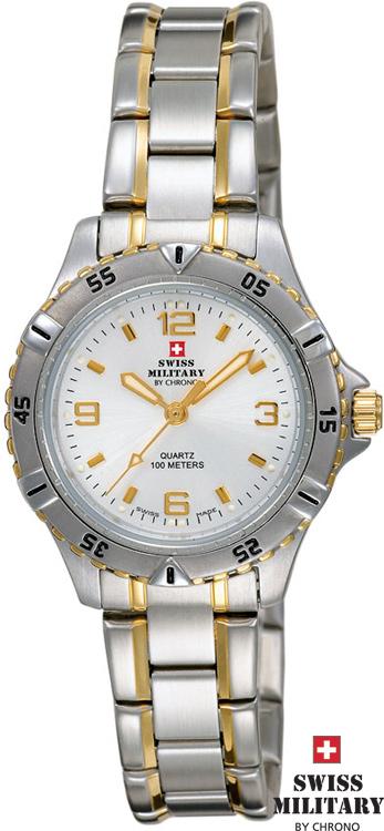 SWISS MILITARY 20033BI-2M 10ATM dvojička s pánskymi hodinkami