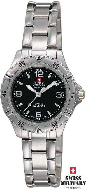 SWISS MILITARY 20033ST-1M dvojičky s pánskymi hodinkami