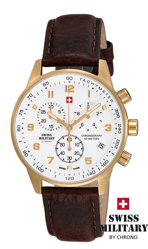 SWISS MILITARY SM34012.07 pánske hodinky
