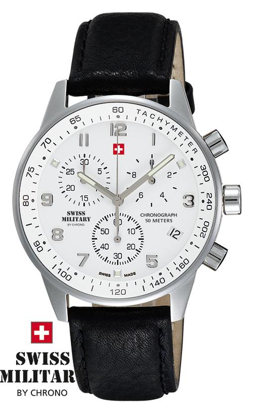 SWISS MILITARY 20042ST-2L SM34012.06 pánske hodinky