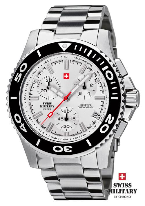 Swiss Military 20084ST-2M pánske hodinky 10 ATM