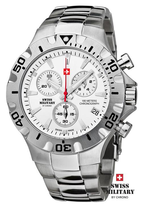 Swiss Military 20087ST-2M pánske hodinky 10 ATM