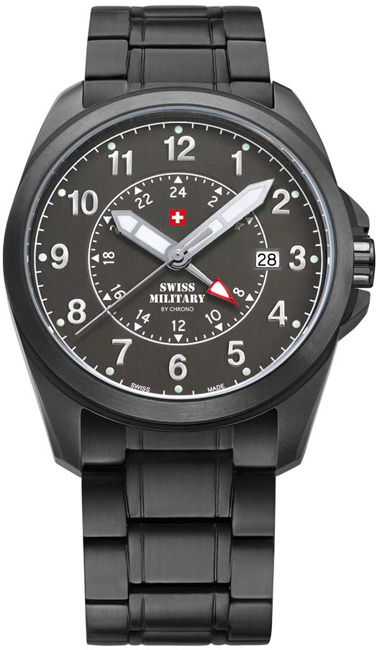 Swiss Military 29000BPL-88M Quartz Dual Time