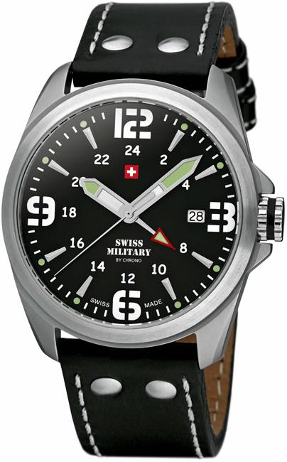 Swiss Military 29000ST-1L Quartz Dual Time