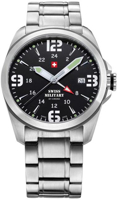Swiss Military 29000ST-1M Quartz Dual Time