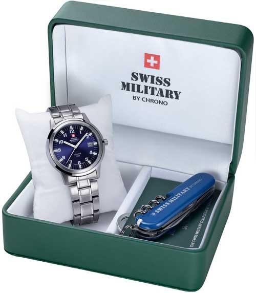 787b2f7fa Swiss Military SMP36004,03 SET pánske hodinky a nožík