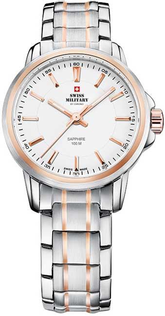 Swiss Military SM34040.10 Sapphire Crystal dámske hodinky