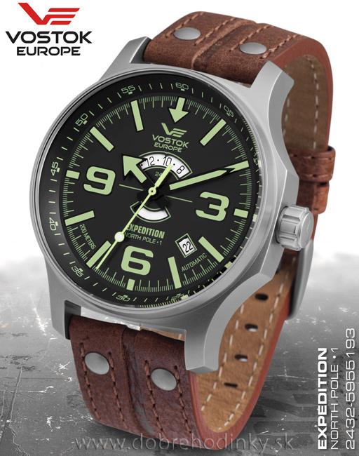 Vostok Europe 2432/5955193 North Pole-1 Expedition Day and Night