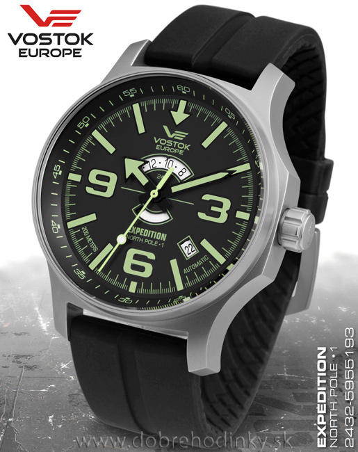 Vostok Europe 2432/5955193 S North Pole-1 Expedition Day and Night