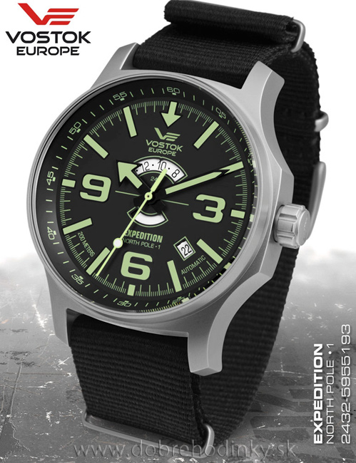 Vostok Europe 2432/5955193 T Expedition North Pole-1 Day and Night