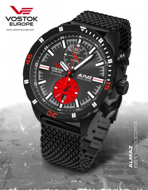 Vostok Europe 6S11-320C260 B ALMAZ chrono