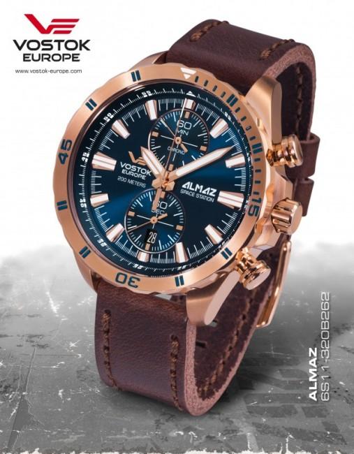 Vostok Europe 6S11/320B262 ALMAZ chrono