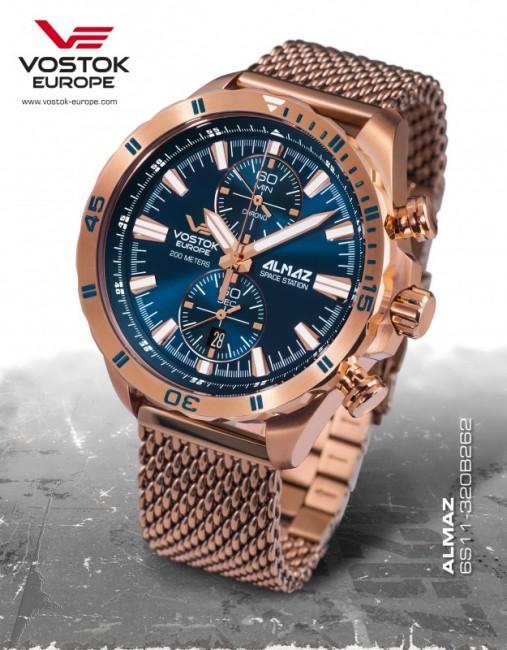 Vostok Europe 6S11/320B262 B ALMAZ chrono