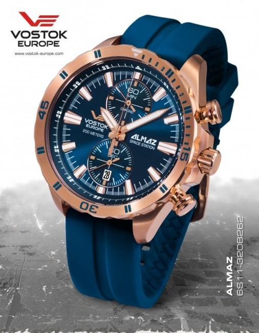 Vostok Europe 6S11/320B262 S ALMAZ chrono