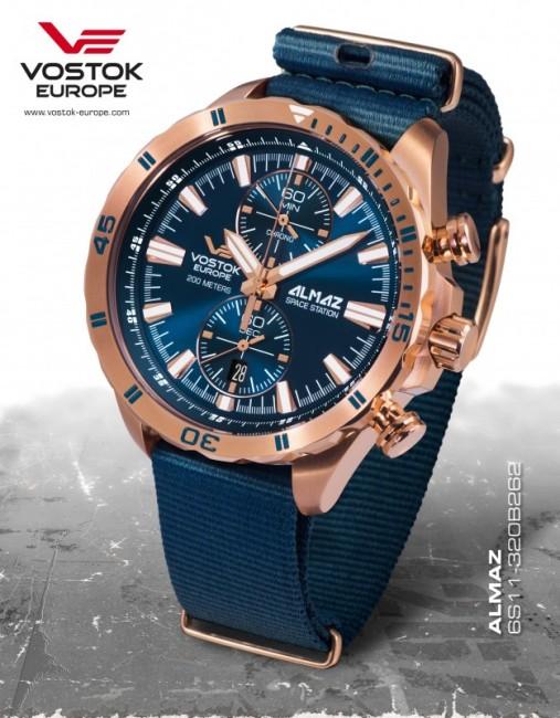 Vostok Europe 6S11/320B262 T ALMAZ chrono