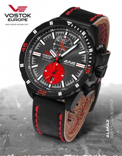 Vostok Europe 6S11/320C260 ALMAZ chrono