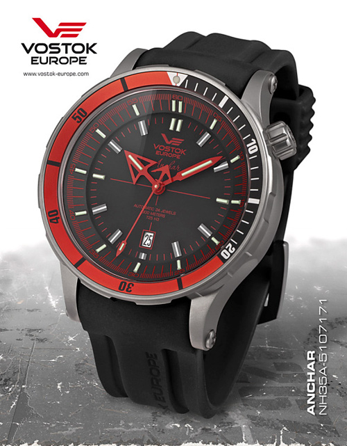Vostok Europe NH35A-5107171 Anchar Titanium