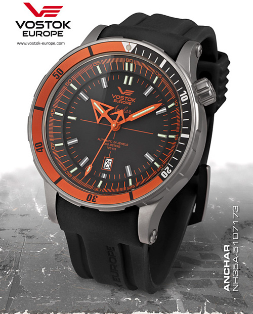Vostok Europe NH35A-5107173 Anchar Titanium