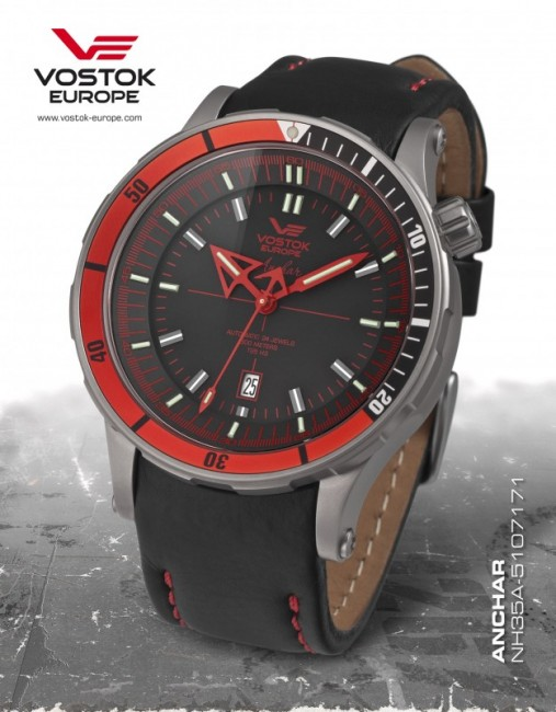 Vostok Europe NH35A 5107171 - pánske hodinky Vostok Europe ... 275618776e8