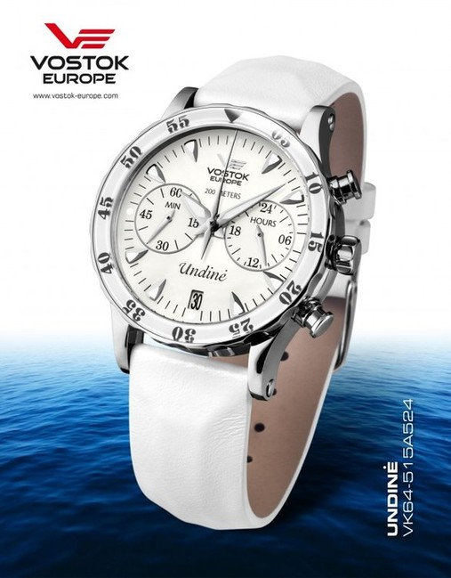 Vostok Europe VK64 515A524 UNDINE dámske hodinky  e9536966d2