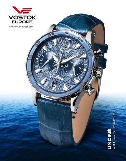 Vostok Europe VK64 515A526 UNDINE dámske hodinky  59e819f9b25